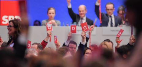 SPD für Koalitionsverhandlungen