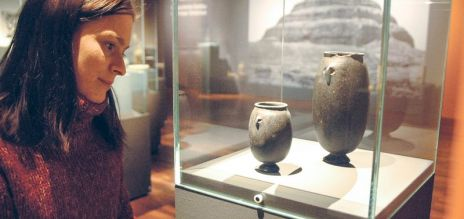 Exhibition on Egyptian pots