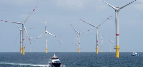 Surge in wind energy production