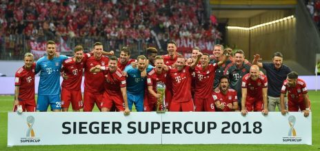 Bayern Munich win German Super Cup