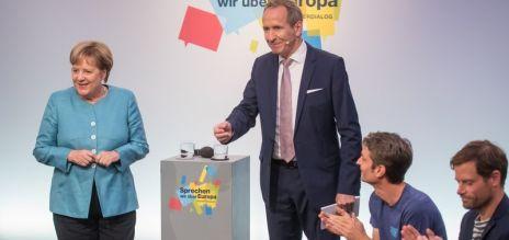Kanzlerin für Vielfalt in Europa