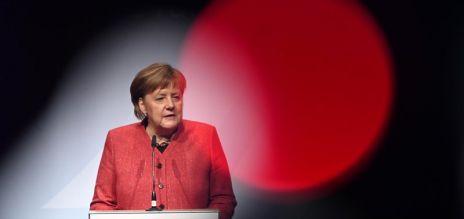Merkel at Harvard commencement