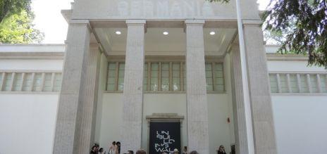 Einweihung des Deutschen Pavillons