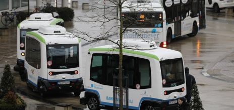 Self-driving bus lines introduced