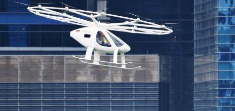 German air taxi passes test flight