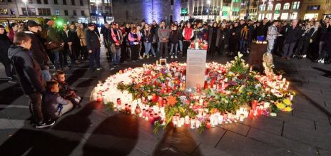 Halle mourns the attack victims