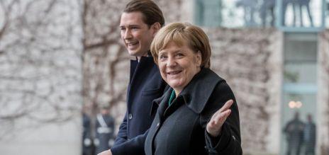 Kanzler Kurz zu Besuch in Berlin