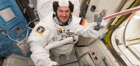 Gerst neuer Kommandant auf der ISS