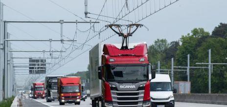 Erste Elektro-Autobahn in Betrieb