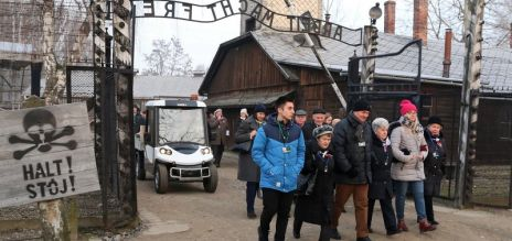 Holocaust remembrance in Auschwitz