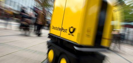German post develops mailman robots