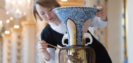 Japanische Vasen in Dresden