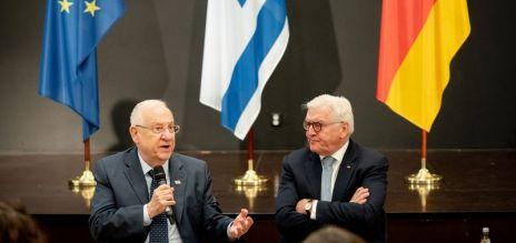 Israeli president visits Germany