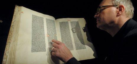 Gutenberg Bible goes online