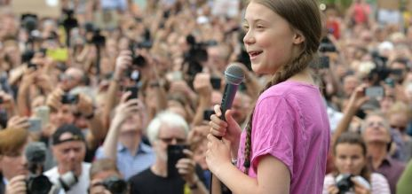Thunberg at Berlin climate protest