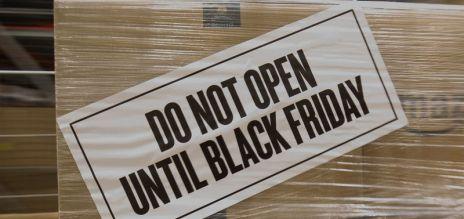 Hohe Umsätze durch Black Friday