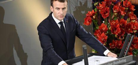 Frankreichs Präsident im Bundestag
