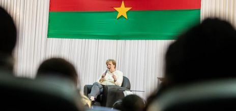 Kanzlerin besucht Westafrika