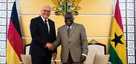 Bundespräsident Steinmeier in Ghana
