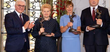 Friedenspreis an baltische Staaten