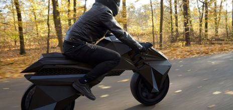 World's first 3D-printed motorbike