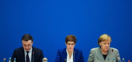 CDU-Chefin verkündet Rückzug