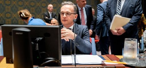 Maas at the UN Security Council