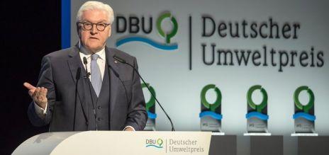 Deutscher Umweltpreis verliehen