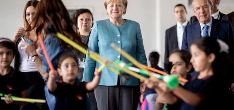Merkel in Beirut