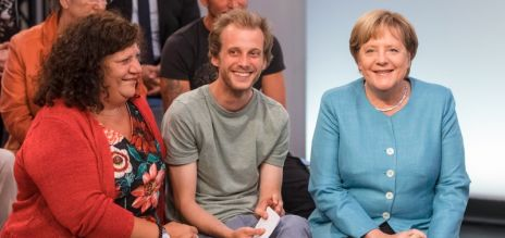 Merkel calls for diversity