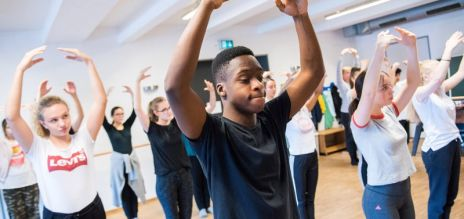 Learning confidence through dance