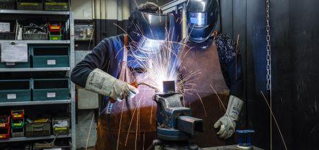 Deutsche Industrie: Weniger Aufträge als erwartet