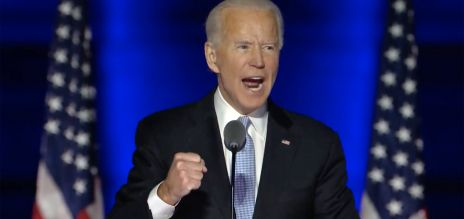 Huge trust in Joe Biden