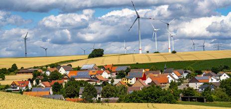 Investitionen in Energiewende auf Rekordwert