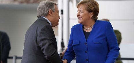 Merkel gratuliert Guterres
