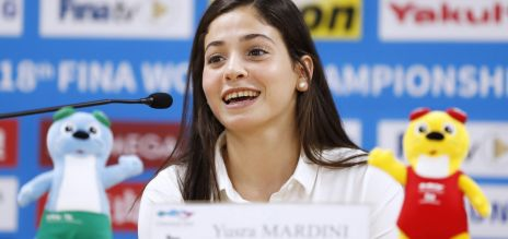 Olympionikin Yusra Mardini: die Mutmacherin