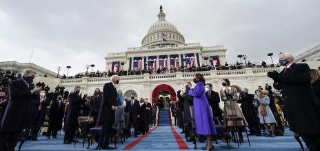 Joe Biden bei seiner Amtseinführung