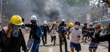 EU sanktioniert Top-Generäle von Myanmar