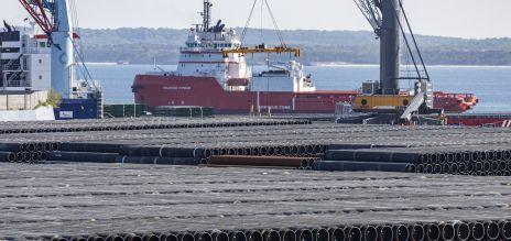 Einig bei Nord Stream 2