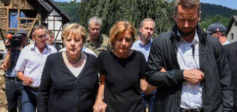 Merkel verspricht Hilfe