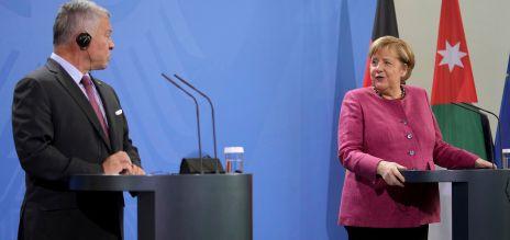 Merkel dankt Jordaniens König