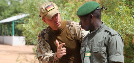 Bundeswehr führt EU-Ausbildungsmission in Mali