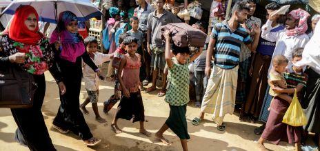 Deutschland gibt mindestens 30 Millionen für Rohingya-Flüchtlinge