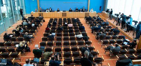 Bundespressekonferenz Corona
