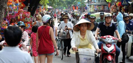 Vietnam Straßenszene