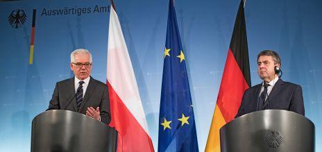 Wichtiger Partner: der polnische Außenministers Jacek Czaputowicz zu Gast in Berlin