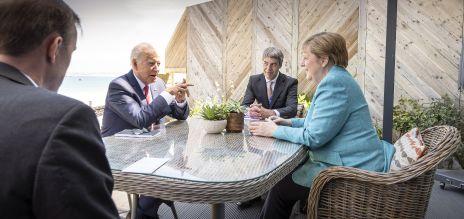 Merkel trifft Biden am Rande des G7-Gipfels