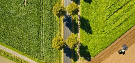 Die Natur leidet in landwirtschaftlichen Regionen