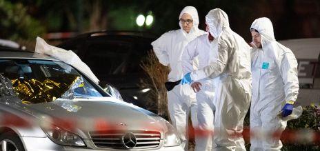 Polizisten bei Attentat in Hanau