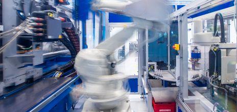 Deutschland weit vorn beim Einsatz von Industrierobotern